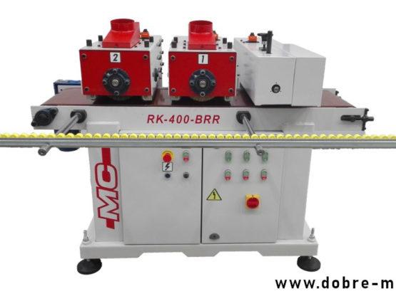 MC RUSTICA RK-400-BRR - Przemysłowe urządzenie do strukturyzacji